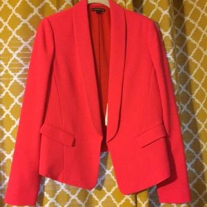 EUC neon pink Express blazer